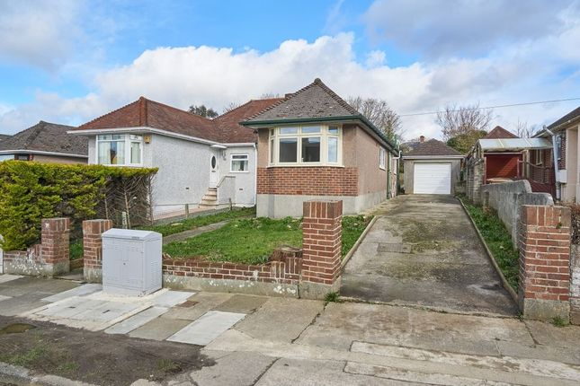 Thumbnail Bungalow for sale in Vicarage Gardens, Plymouth