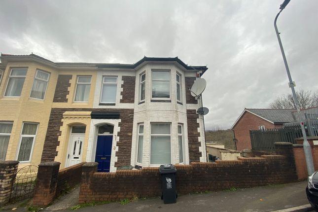 Thumbnail Semi-detached house for sale in Crindau Road, Newport