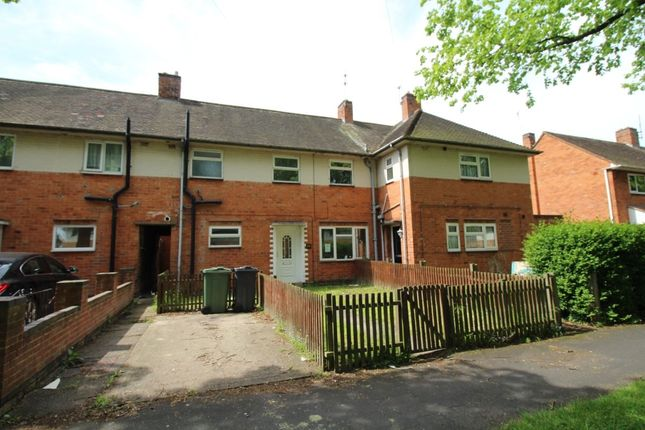 Thumbnail Terraced house to rent in Griggs Road, Loughborough