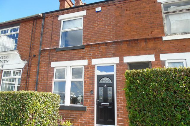 Thumbnail Terraced house for sale in Hill Top, Bolsover, Chesterfield