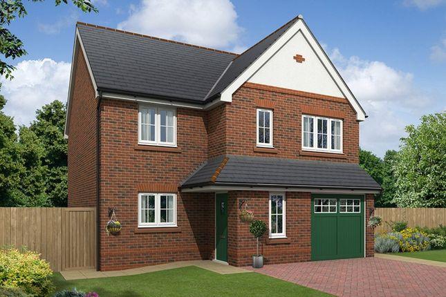 Thumbnail Detached house for sale in The Alston Boundary Park, Parkgate, Neston