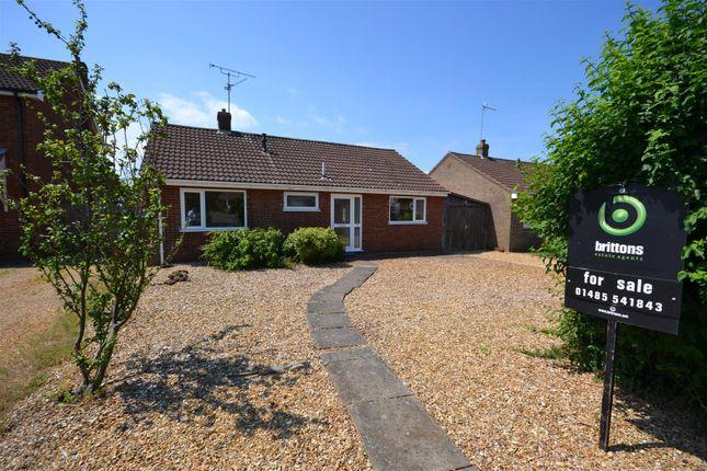 Thumbnail Detached bungalow for sale in Saxon Way, Dersingham, King's Lynn