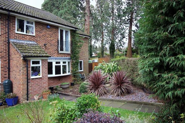 Thumbnail End terrace house for sale in Longlands Way, Camberley