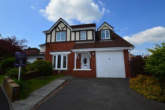 Detached house for sale in Parc Bryn Derwen, Llanharan, Pontyclun