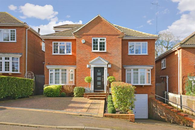 Thumbnail Detached house for sale in Belmor, Elstree, Borehamwood