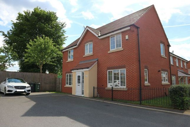 Thumbnail Terraced house for sale in Market Garden Close, Thurmaston