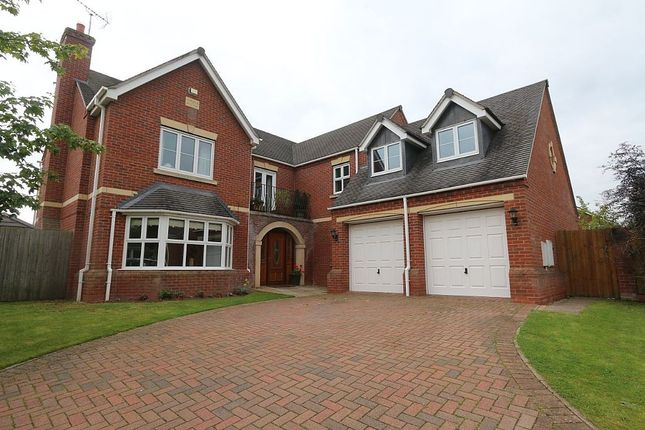 Thumbnail Detached house for sale in Marches Meadow, Brownhill, Ruyton Xi Towns, Shrewsbury, Shropshire
