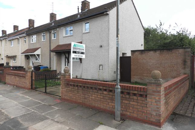 Thumbnail Terraced house to rent in Cleadon Road, Southdene, Kirkby