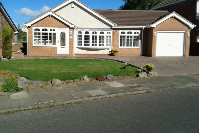 Thumbnail Detached bungalow for sale in Simonside View, Ponteland, Newcastle Upon Tyne