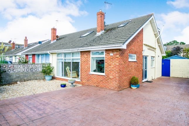 Thumbnail Bungalow for sale in Glynstell Road, Nottage, Porthcawl