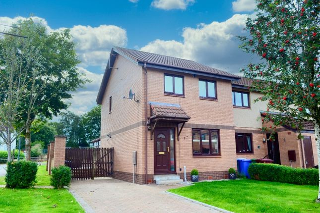 Thumbnail End terrace house for sale in Southend Grove, Strathaven, Lanarkshire