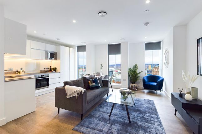 Thumbnail Flat for sale in Hadrian's Tower, Rutherford Street, City Centre