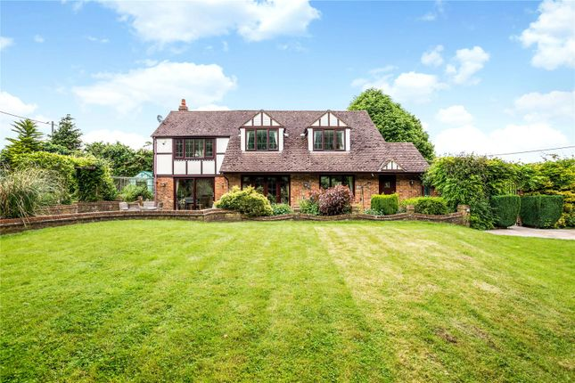 Thumbnail Detached house for sale in Knowl Hill, Kingsclere, Newbury, Hampshire