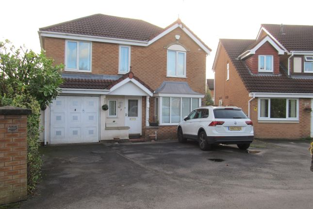 Thumbnail Detached house to rent in Waterdale Drive, Whitefield, Manchester