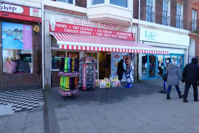 Retail premises for sale in The Esplanade, Weymouth, Dorset