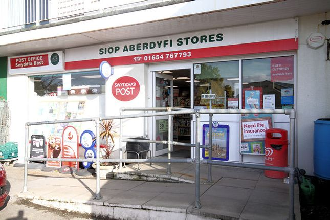 Thumbnail Retail premises for sale in Aberdovey