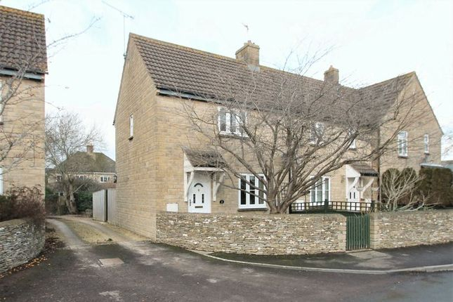 Thumbnail Terraced house for sale in Morgans Terrace, South Cerney, Gloucestershire.