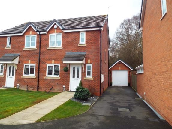 Thumbnail Semi-detached house for sale in Bilberry Grove, Buckley, Flintshire