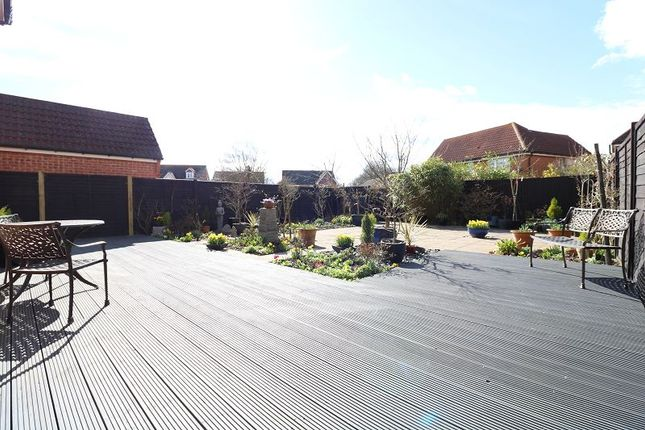 Thumbnail Detached house for sale in Emperor Way, Knights Park, Ashford, Kent