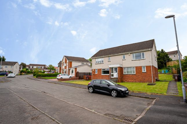Thumbnail Flat to rent in Hazelbank Walk, Airdrie, North Lanarkshire