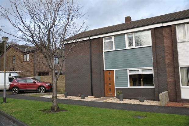 Thumbnail End terrace house for sale in Greenwich Gardens, Haydon Bridge