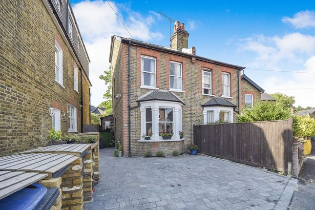 Thumbnail Semi-detached house to rent in Rowlls Road, Kingston Upon Thames