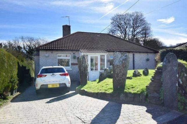 Thumbnail Detached bungalow for sale in Lower Packhorse Lane, Baldrine