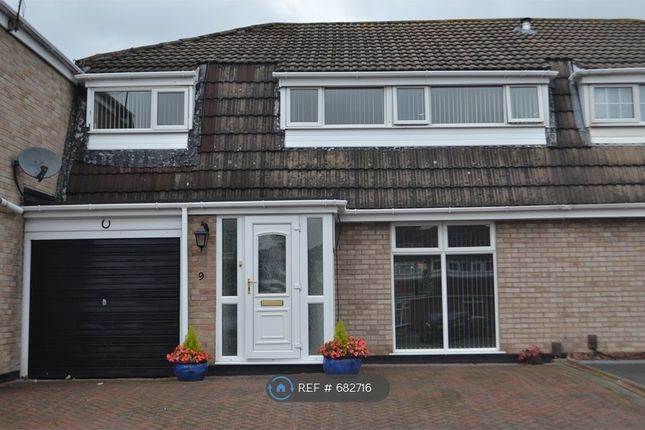 Thumbnail Semi-detached house to rent in Mead Close, Sinfin, Derby