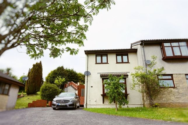 Thumbnail Semi-detached house to rent in Bay View Gardens, Skewen, Neath, West Glamorgan