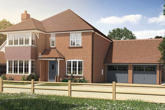 Thumbnail Detached house for sale in Oak Tree Close, Farnham Road, Odiham, Hampshire
