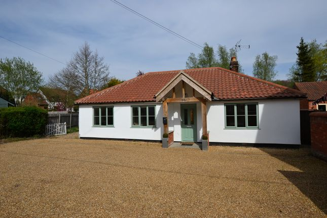Thumbnail Detached bungalow for sale in Church Street, Litcham, King's Lynn, Norfolk.
