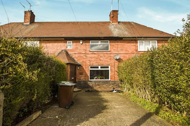 Thumbnail Terraced house for sale in Amesbury Circus, Nottingham