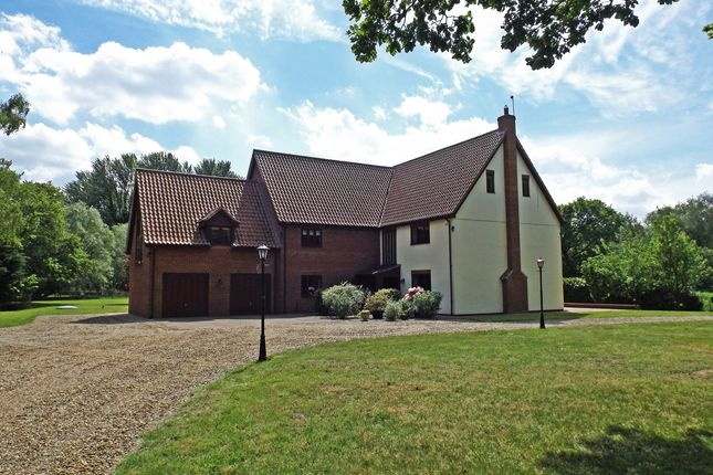 Thumbnail Detached house for sale in Mill Lane, Snetterton, Norwich
