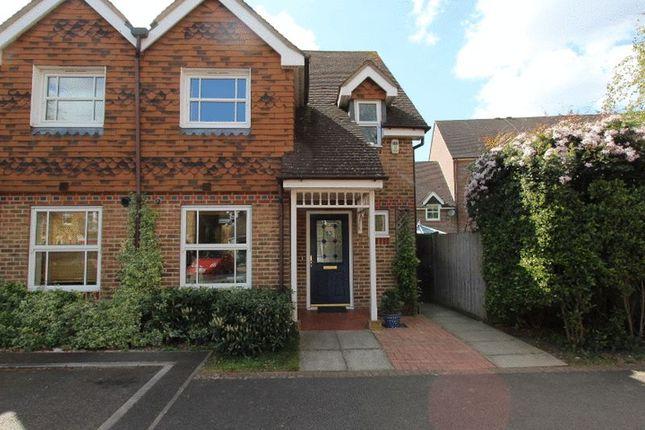 Thumbnail Semi-detached house for sale in Burns Close, Carshalton