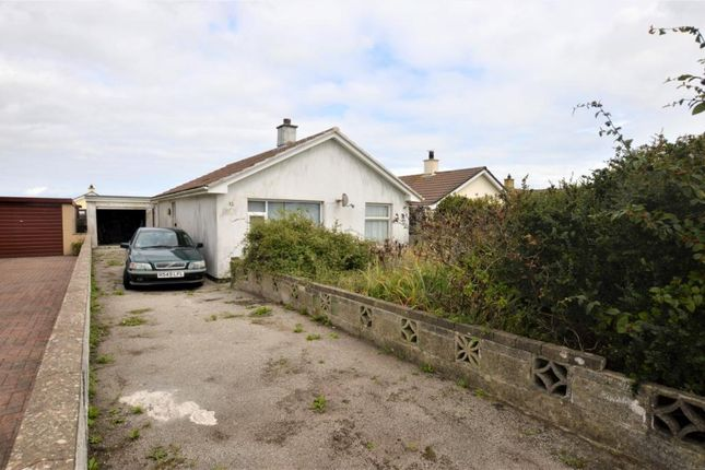 Thumbnail Detached bungalow for sale in Tregrea Estate, Beacon, Camborne, Cornwall