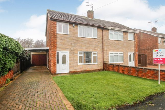 Thumbnail Semi-detached house for sale in Newfields Avenue, Moorends, Doncaster