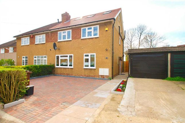 Thumbnail Semi-detached house for sale in Craigweil Close, Stanmore