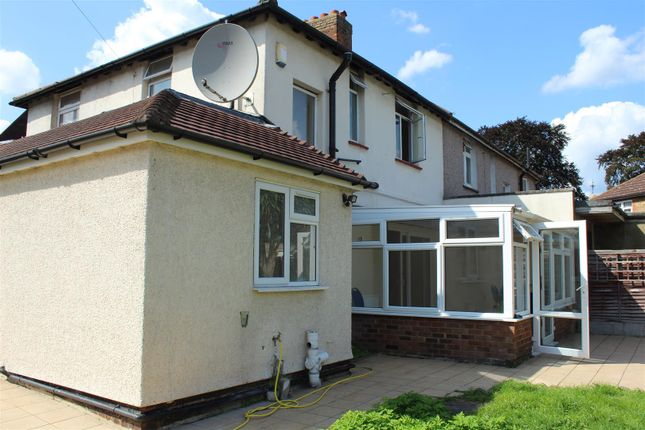 Thumbnail Semi-detached house to rent in Northern Avenue, London