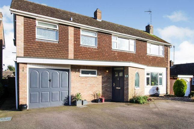 Thumbnail Detached house for sale in Links Road, Kibworth Beauchamp