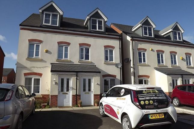 Thumbnail Town house to rent in Vulcan Park Way, Newton-Le-Willows