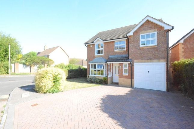 Thumbnail Detached house to rent in Hallbrooke Gardens, Binfield