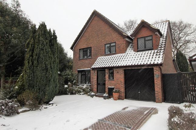 Thumbnail Detached house for sale in Pevensey Way, Frimley