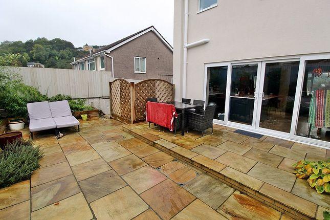 Rear Garden of South Drive, Llantrisant, Pontyclun, Rhondda, Cynon, Taff. CF72
