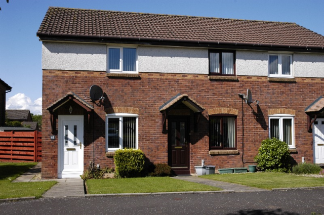 Thumbnail Terraced house to rent in Obree Avenue, Prestwick, South Ayrshire, 2Np