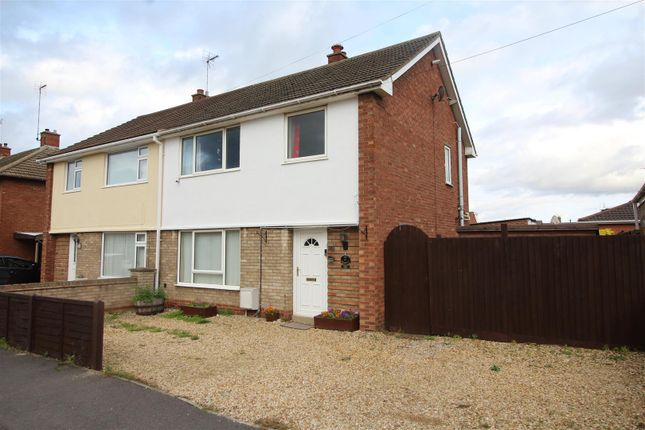 Thumbnail 3 bed semi-detached house for sale in Plough Road, Whittlesey, Peterborough