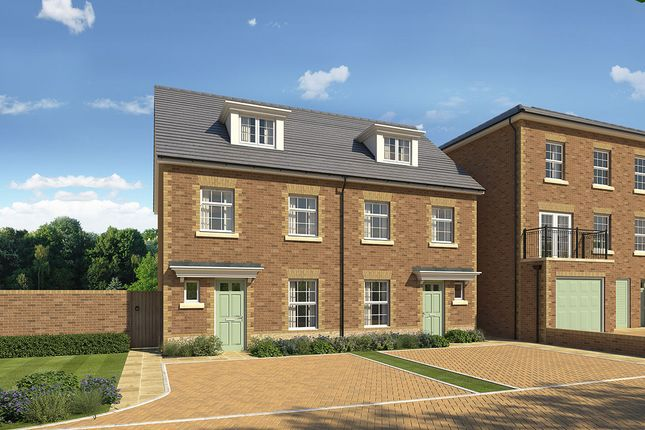 "Thumbnail Semi-detached house for sale in ""Wilmington Semi"" at James Whatman Way, Maidstone"