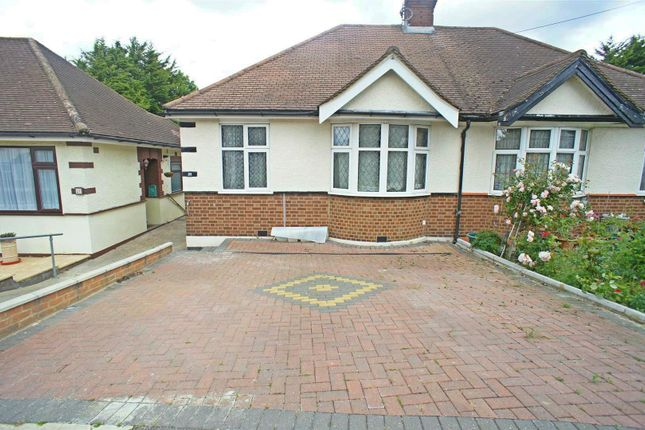 Thumbnail Semi-detached bungalow for sale in Amesbury Drive, London