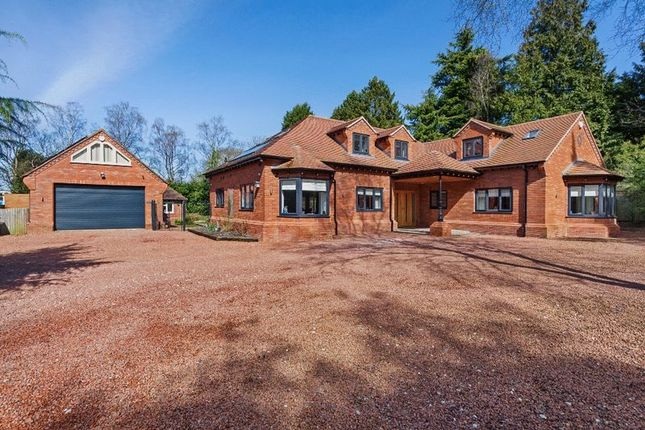 Thumbnail Detached house for sale in Pinewood Drive, Ashley Heath, Market Drayton