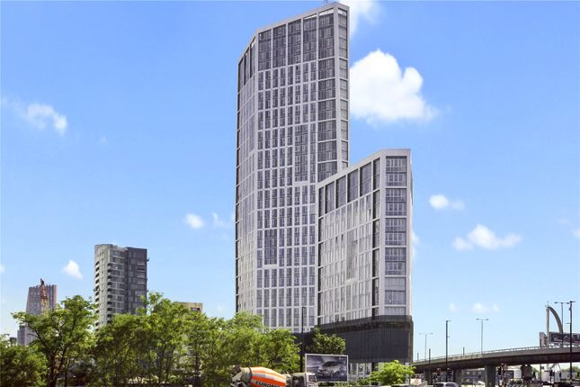 Thumbnail Flat for sale in Sky View Tower, 12 High Street, London