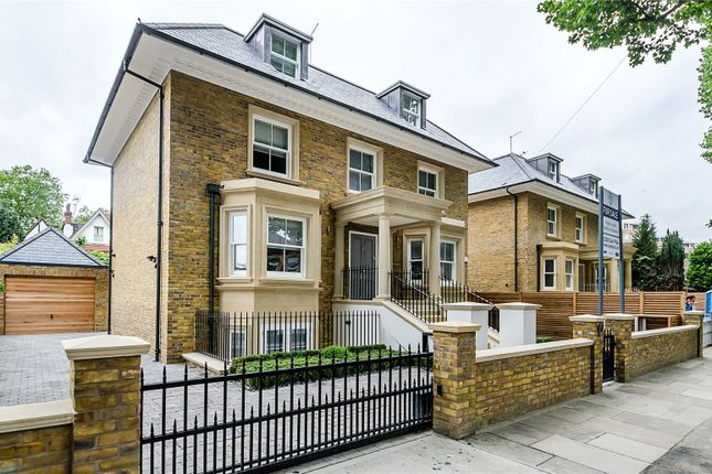 Thumbnail Detached House For Sale In Albany Park Road Kingston Upon Thames